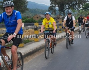 Myanmar Easy Biking Tour